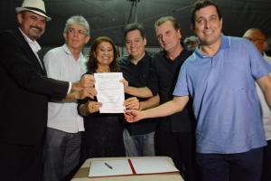 Deputados participam da entrega de obras em Catolé do Rocha e Cajazeiras