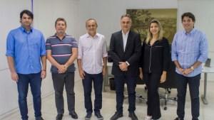 Em reunião com nova Mesa Diretora da CMJP, Cartaxo destaca harmonia entre poderes para fazer mais por JP