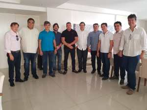 Rodrigo Maia conquista apoio de nove deputados paraibanos; confira os nomes