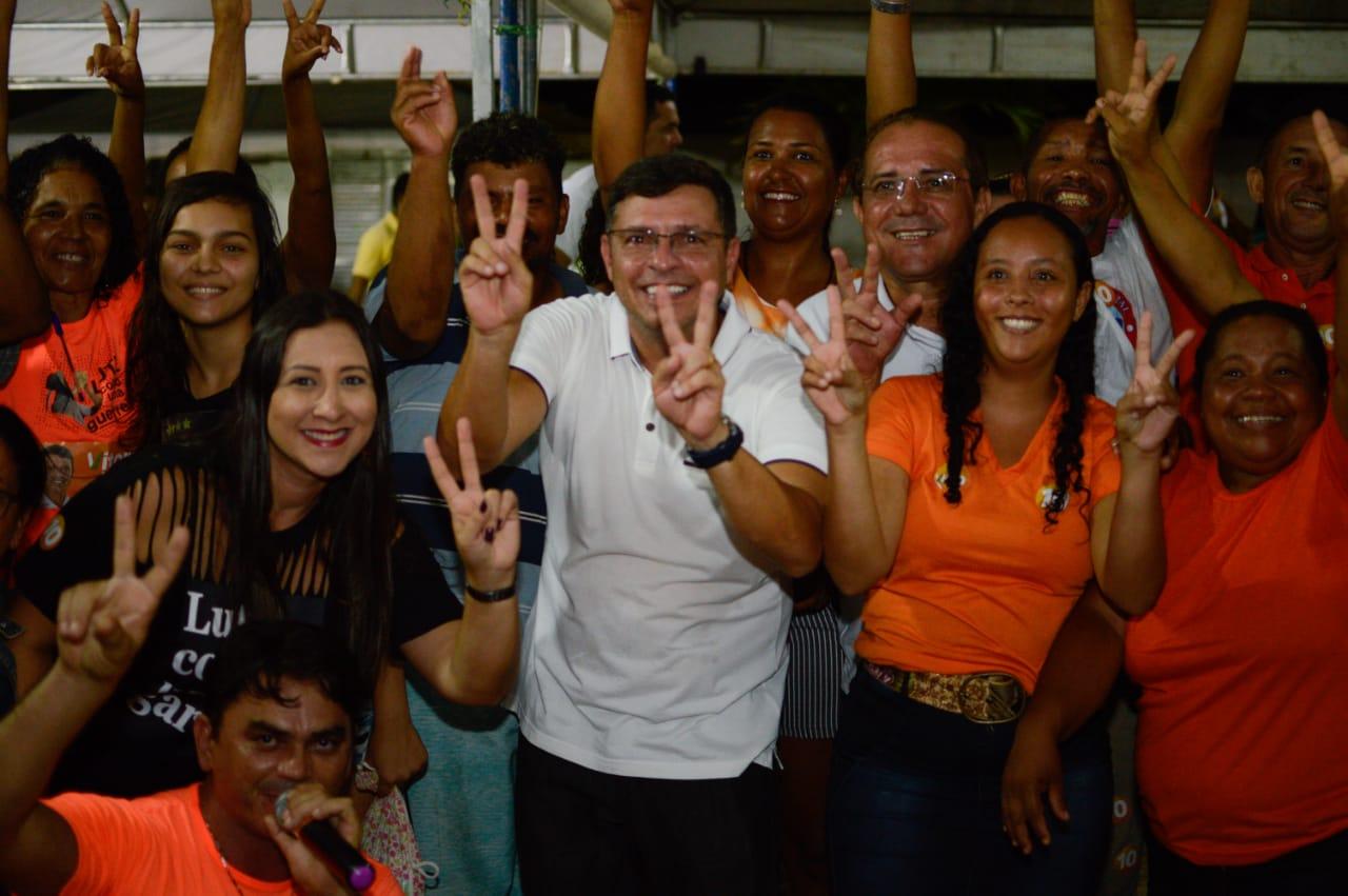 CABEDELO: Cida Ramos reúne lideranças e moradores para fortalecer campanha de Vitor Hugo