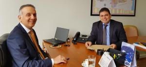 Em semana com agenda intensa, Aguinaldo Ribeiro recebe prefeitos paraibanos em Brasília
