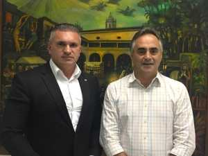 Luciano Cartaxo e Julian Lemos se reúnem para discutir pauta de interesse de João Pessoa
