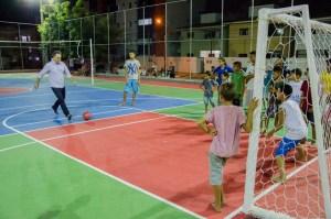 Cartaxo entrega terceira das 14 novas praças da Capital no bairro Cidade dos Colibris