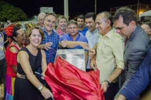 Cartaxo entrega praça e moradores de Mangabeira ganham mais um espaço público de lazer e convivência