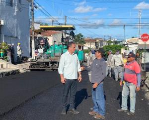 Luciano Cartaxo autoriza obras do Mais Pavimentação no bairro João Agripino nesta terça