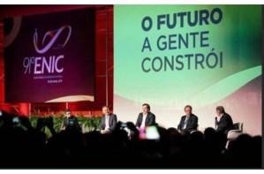 Aguinaldo Ribeiro participa do encerramento do 91° ENIC e destaca papel do Congresso na formulação de políticas de incentivo à indústria