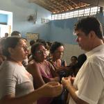 Ruy visita bairro afetado pelas chuvas, em João Pessoa