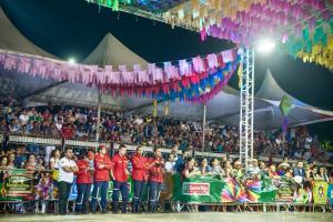 Moleka 100 Vergonha conquista Festival Paraíba Junino em Santa Rita
