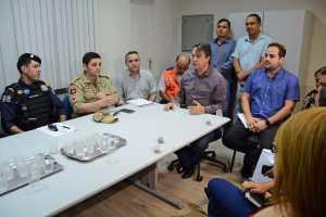Com a participação de vários órgãos de segurança, Sedurb organiza fiscalização da estrutura da Festa das Neves