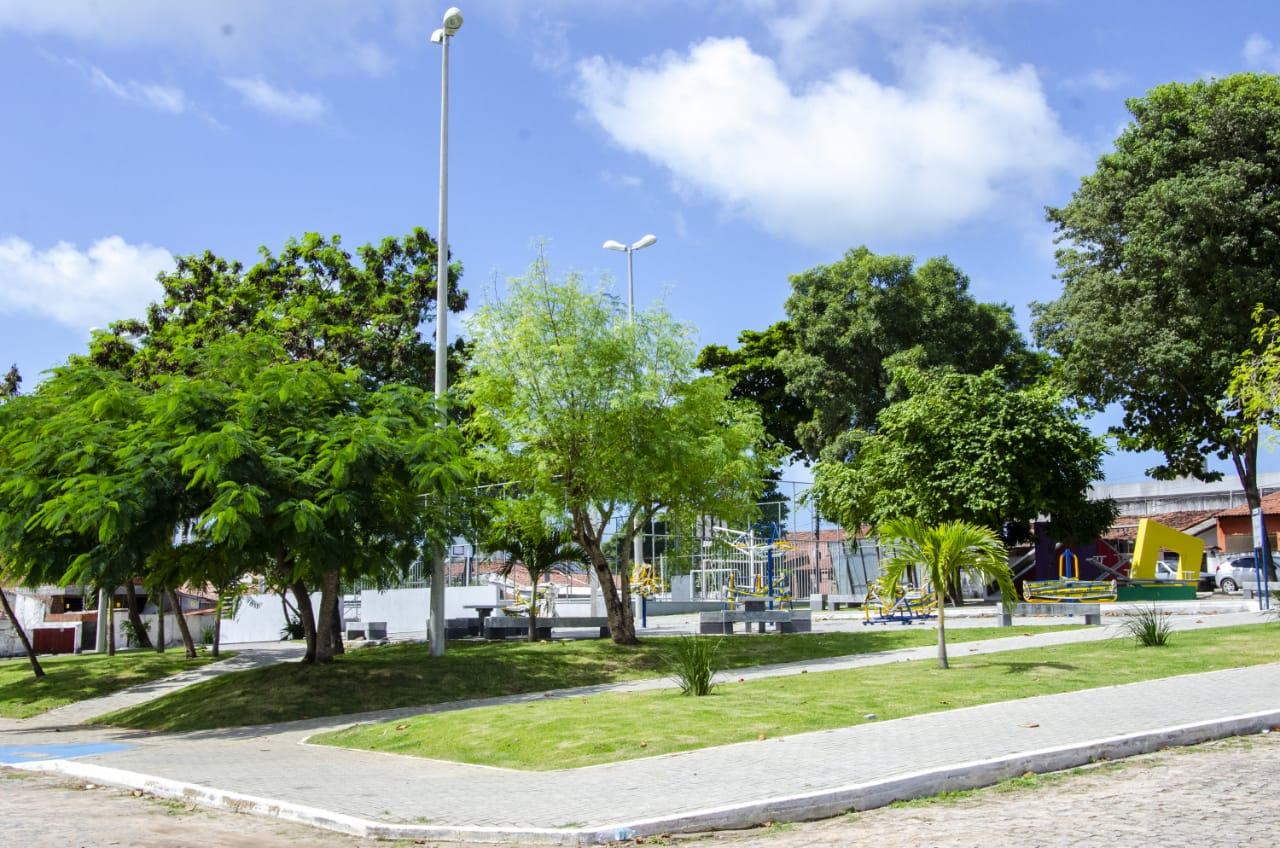 Prefeitura de João Pessoa entrega Praça Jorge Valcasser no Castelo Branco nesta quarta