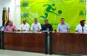 Luciano Cartaxo lança Copa de Futebol de Seleções de Bairros e estimula o futebol amador na Capital