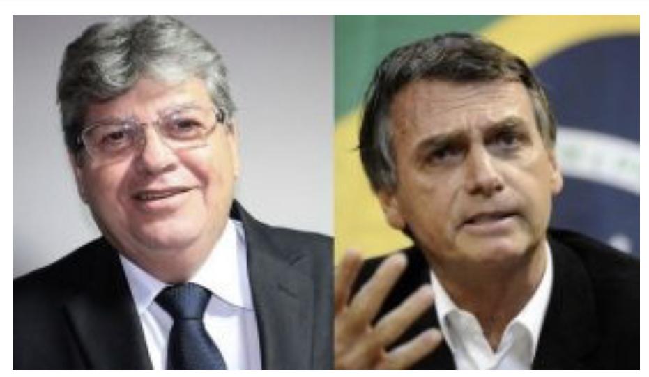 BASTIDORES: Deputados trabalham para aproximar João Azevêdo e Bolsonaro