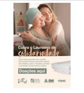 Chá Solidário monta ponto de arrecadação para ajudar o Hospital Napoleão Laureano