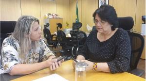 Ministra Damares virá a João Pessoa para participar de audiência pública sobre suicídio e automutilação