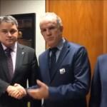 Efrain recebe agradecimentos da Federação Nacional dos Oficiais de Justiça