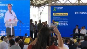 VÍDEO: Em Campina Grande, Bolsonaro diz que futuro do Brasil passa pelo Nordeste