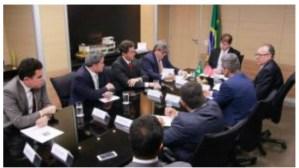 Bancada da Paraíba busca soluções para obras da Barreira do Cabo Branco