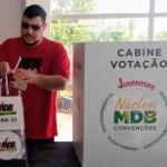 Dihêgo Amaranto é eleito secretário nacional da Juventude do MDB