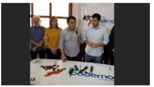 PTB e Podemos lança nomes de Wilson Filho para JP e de Ana Cláudia para CG