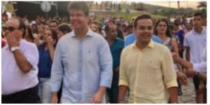 LIVRAMENTO: deputado federal Ruy Carneiro sofre acidente a caminho de Procissão