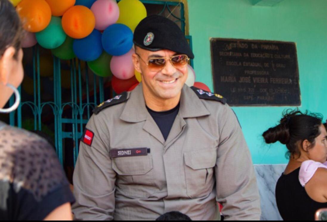 Major Sidnei Paiva coloca nome à disposição da população para disputar Prefeitura de Sapé
