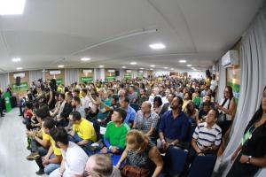 """VÍDEO: """"Minha ideia é não lançar candidatos nos municípios"""", revela Bolsonaro durante encontro do Aliança pelo Brasil em João Pessoa"""