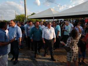 Prefeito Netto Gomes agradece a João Azevêdo a entrega de escola em São José de Espinharas e o anúncio de novas obras na cidade