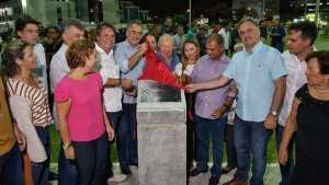 Cartaxo entrega nova praça no Jardim Oceania e atual gestão já soma 57 espaços públicos de lazer entregues desde 2013