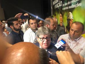"""João critica vazamento da delação de Livânia: """"Não sei como apareceu na imprensa porque muitas vezes os advogados não têm acesso"""""""