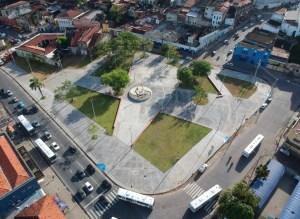 Luciano Cartaxo entrega primeira etapa do Parque Ecológico Sanhauá com revitalização e ampliação da Praça Napoleão Laureano