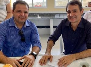 Romero Rodrigues anuncia Marmuthe Cavalcanti como novo presidente do partido em JP