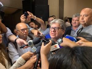 RECADO: João endossa palavras de Damião e diz que se ALPB der prosseguimento ao pedido de impeachment será um golpe