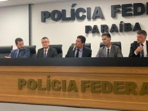VÍDEO: Em visita à PB, Moro elogia trabalho conjunto da PF e Gaeco nas operações Calvário, Xeque-Mate e Pés de Barro