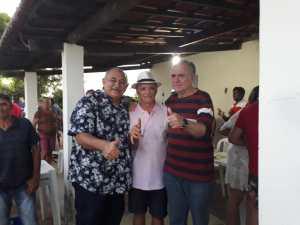 """Galego Souza aproveita a terça de Carnaval para visitar a cidade de Paulista: """"Mais uma possibilidade de estar junto de pessoas tão queridas"""""""