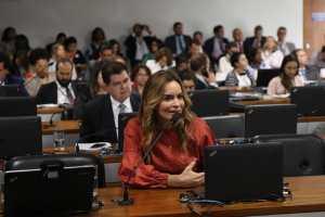 Daniella Ribeiro cobra pressa do presidente para sancionar ajuda financeira à população