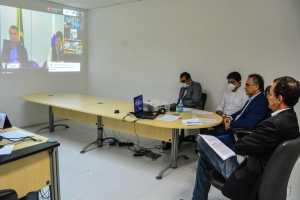 Cartaxo participa de videoconferência com Bolsonaro e solicita cronograma de distribuição de EPIs e respiradores para abertura de novos leitos em JP