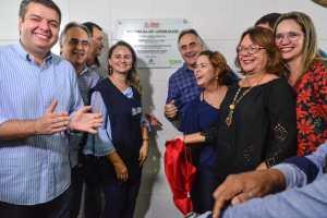 Luciano Cartaxo entrega USF no Jardim Veneza com capacidade de atender 16 mil pessoas e gestão chega à marca de 35 novas unidades, entre construídas e ampliadas
