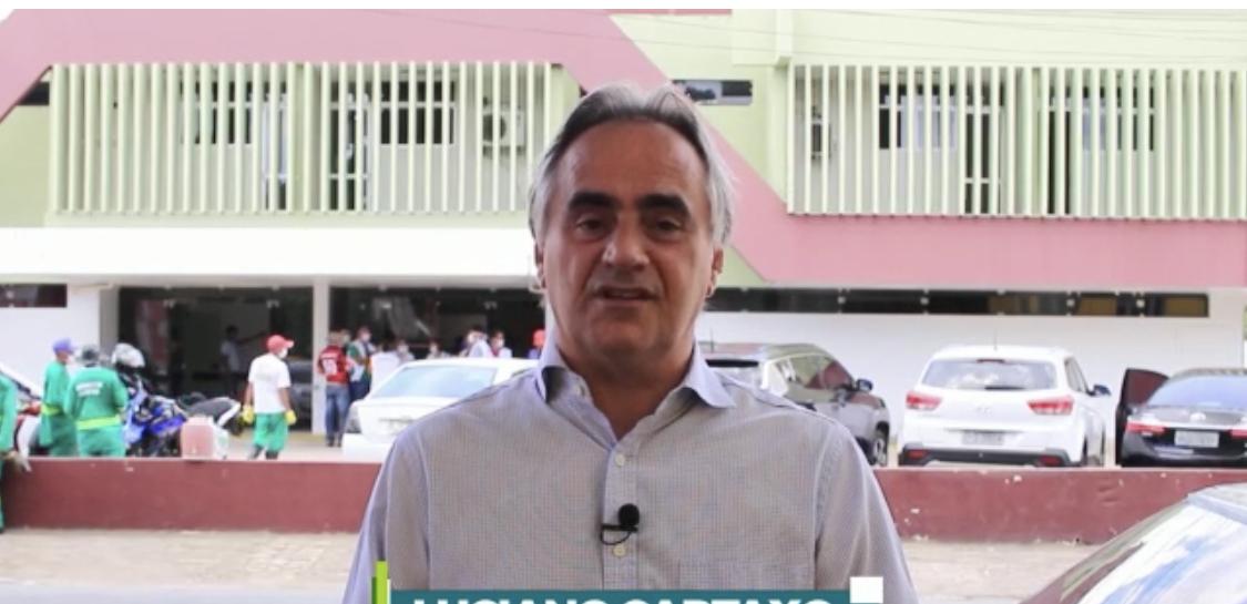 Cartaxo vistoria trabalhos e assegura funcionamento do antigo HTOP (Prontocor) no atendimento a pacientes com Covid-19 em até 30 dias