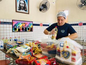 Campanha emergencial da LBV no enfrentamento a covid-19 em prol de famílias pobres