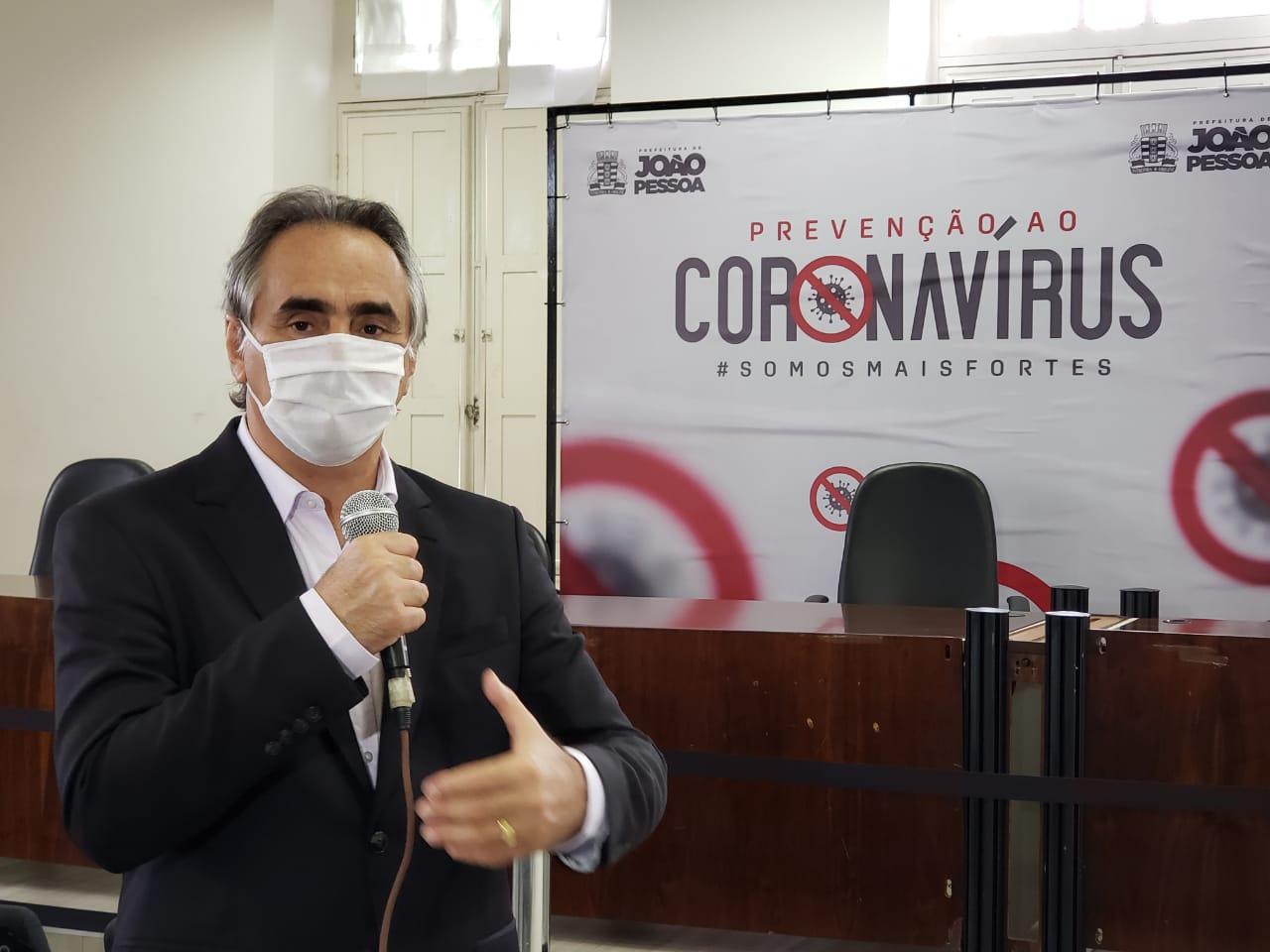 Cartaxo autoriza início de 'Operação Proteção' para conter avanço do coronavírus e orientar população em bairros de JP