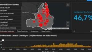 Mangabeira lidera lista de bairros com maior número de moradores infectados por covid-19