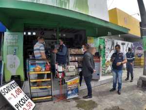 Força-tarefa da Prefeitura de João Pessoa fecha seis estabelecimentos, notifica 14 e autua seis que descumpriram medidas de decretos municipais