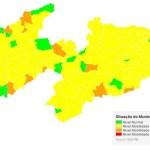 'Plano Novo Normal': avaliação aponta que 182 municípios da Paraíba estão com bandeira amarela e 10 com bandeira verde