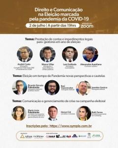 Direito e Comunicação na Eleição marcada pela pandemia da COVID-19