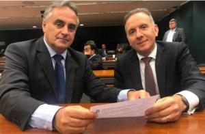 BASTIDORES: Luciano Cartaxo está reunido com Aguinaldo Ribeiro para tratar de eleições em JP