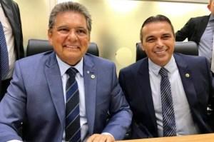 """Presidente da ALPB lamenta morte de Genival Matias: """"Um irmão que a vida pública me deu"""""""