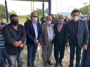 Autoridades politicas e de segurança prestigiam inauguração da Unidade Operacional da PRF em Alhandra