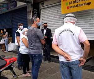 Brigada Sanitária' inicia nesta segunda-feira no bairro de Mangabeira IV contra covid-19 e Aedes aegypti