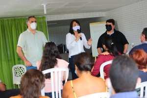 Mais um vereador do Avante contraria o partido e participa de evento com Edilma Freire