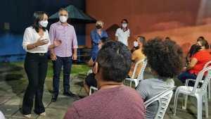 """""""Gestão pública se faz cuidando das pessoas e mostrando resultados"""", diz Edilma Freire em reunião com lideranças do Cristo"""